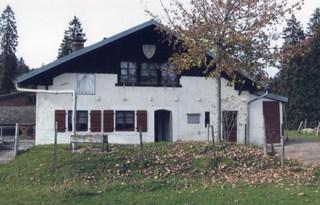 Chalet de Cappel, vue d'ensemble en automne