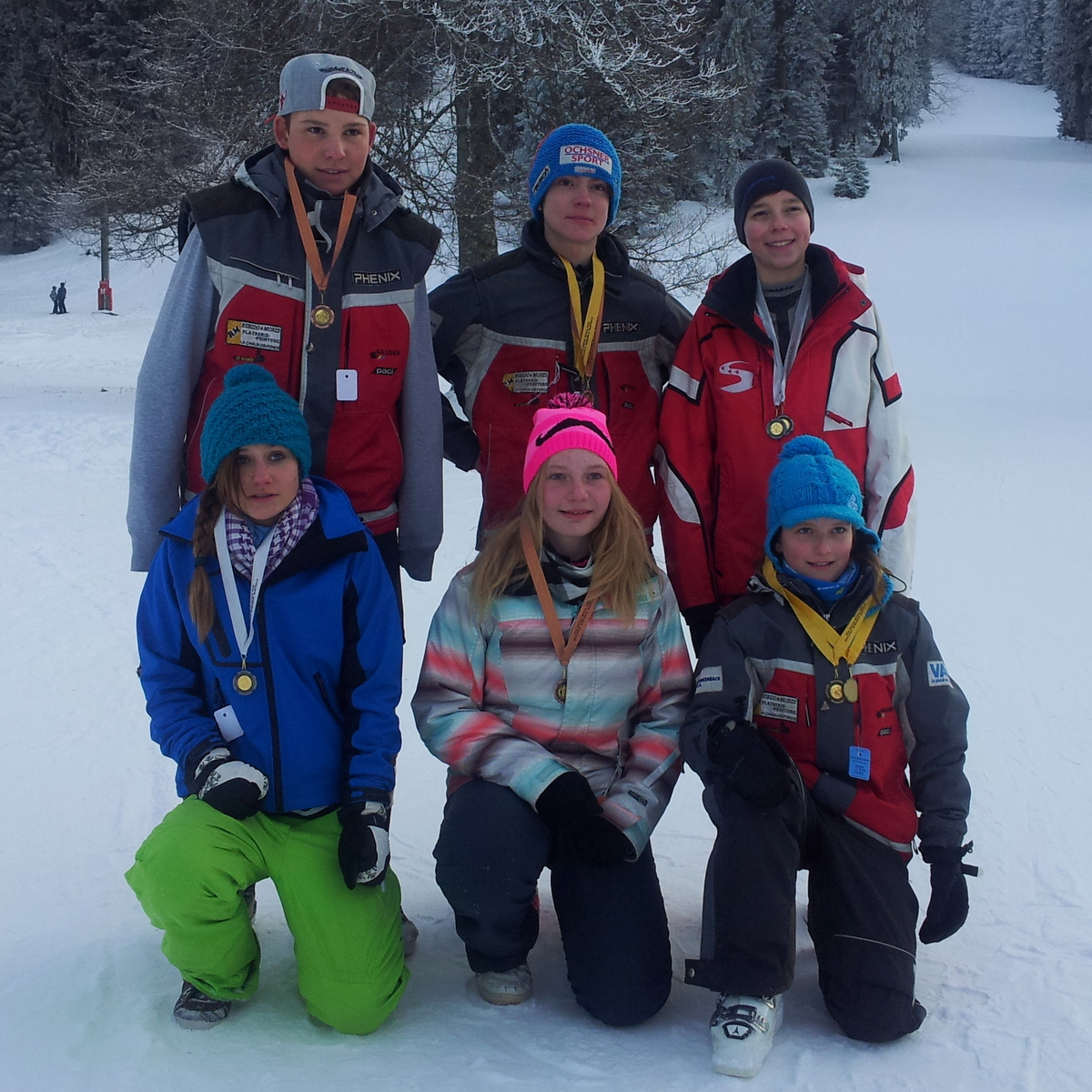 Médaillés du SCC samedi 26.01.2013 CDC 1+2