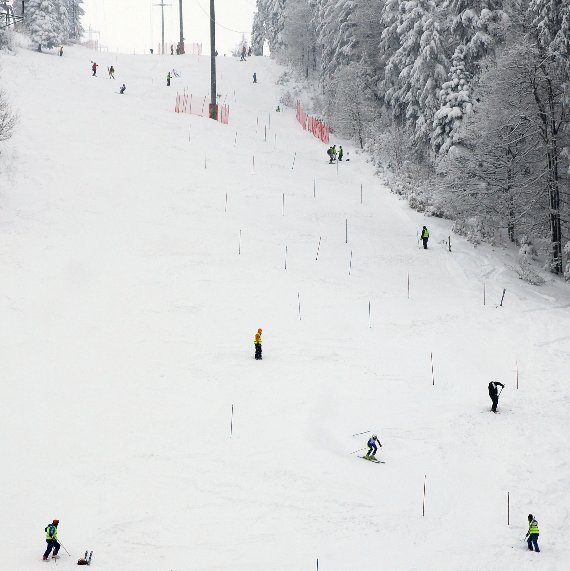 Championnats Jurassiens de Slalom à La Corbatière