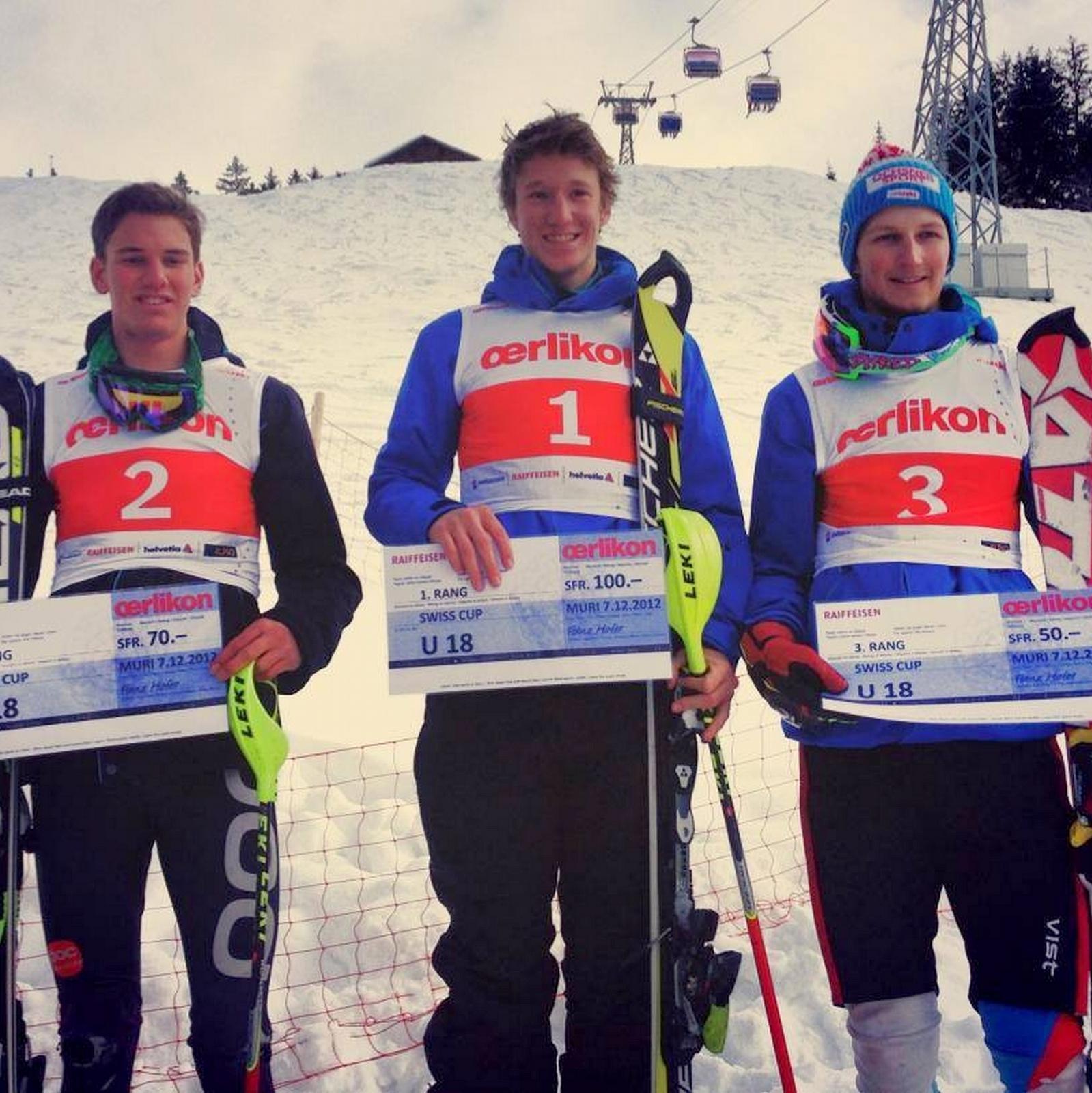 Axel 3ème en Junior FIS