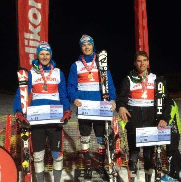 Axel Béguelin vice-champion suisse de slalom M18